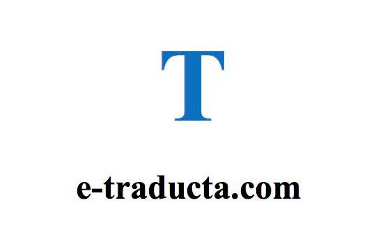 Logo e-traducta 2001