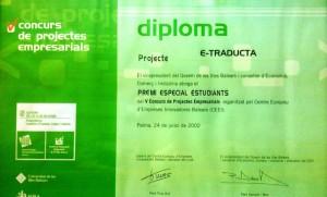 Concurso proyectos empresariales e-traducta
